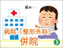 病院と整形外科の併院
