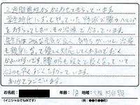 大阪市阿倍野区 10代 男性 M.Sさん